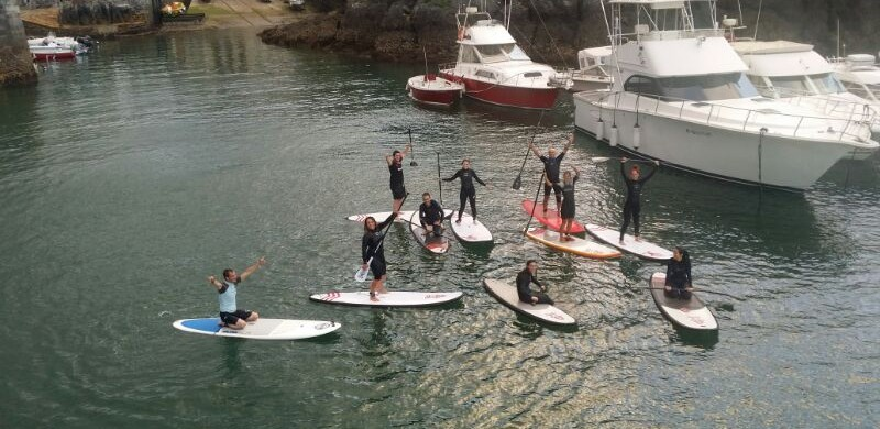 Course SUP Mundaka Surf Team