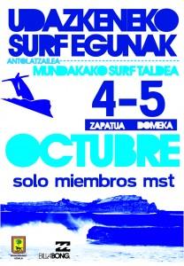 Mundaka campeonato local octubre 2012